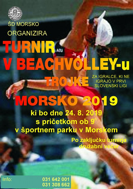šd morsko PLAKAT BEACH VOLLEY1
